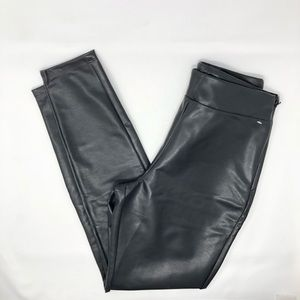 NEW Nordstrom Leith Faux Leather Legging Pant 0422